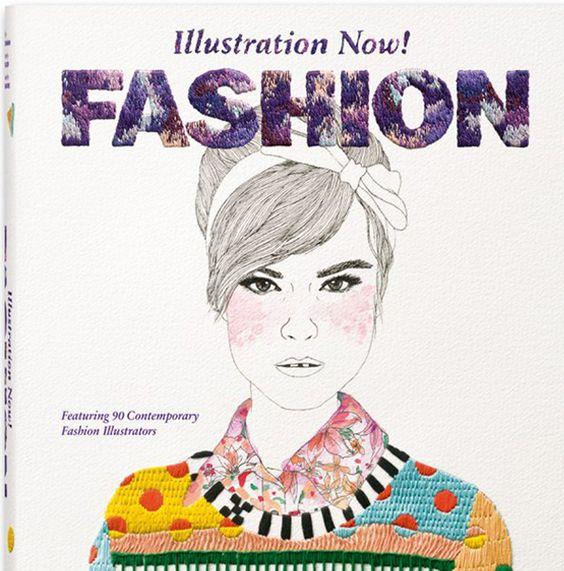 Heute gibt es von mir einen Buch-Tipp Fashion Illustration Now, denn alles startet mit einem weißen Blatt Papier – It all starts with a blank page!