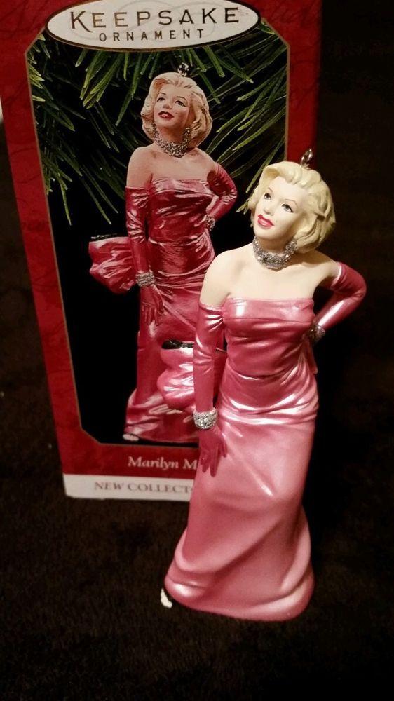 Marilyn Monroe Hallmark Keepsake Ornament Collector 39 S