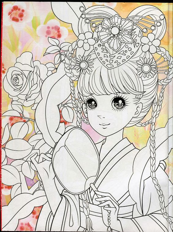 Princess coloring book 2 mama mia picasa web albums - Adult manga 2 ...