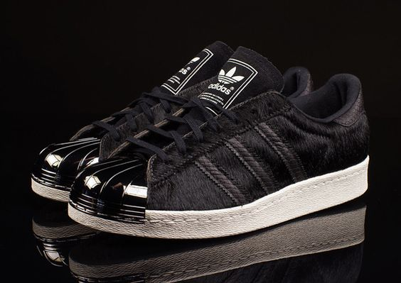 Black Worthy Adidas Superstar X Atoms Luminous Snake Shoes