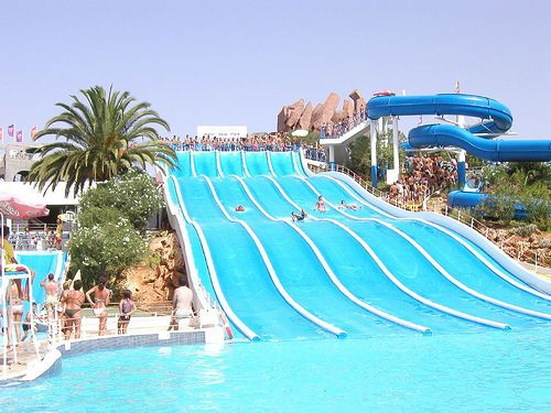 Now those are water slides!
