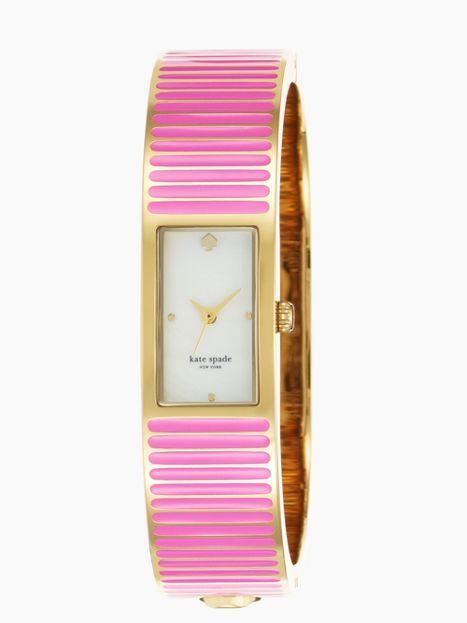 Kate Spade come full circle pink carousel bangle