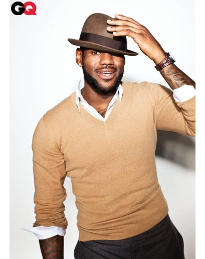 lebron james - he's adorbs. and i love how competitive he is! love to hate. i dont care!