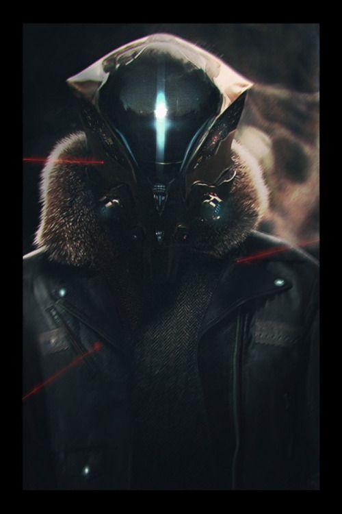 rhubarbes:  Destiny fanart by Nicolas Pierquin. (via ArtStation - Destiny, Nicolas Pierquin)  More Characters here.