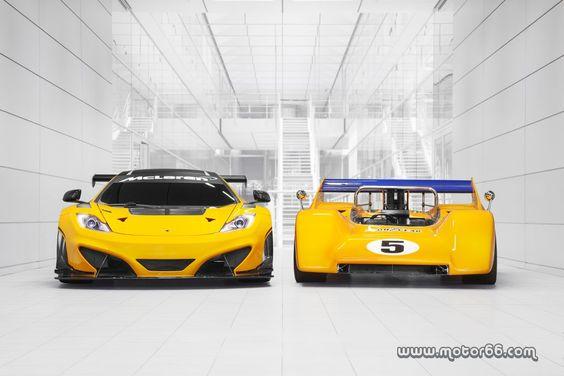Modelos legendarios McLaren en el Goodwood Festival of Speed