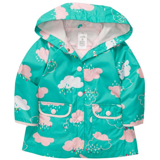 Hooded Rain Jacket | Baby Girl Jackets &amp Outerwear | Sweet Baby