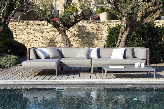 paola lenti: sabi sofa | outdoor | seating | pinterest | outdoor ... - Modulares Outdoor Sofa Island