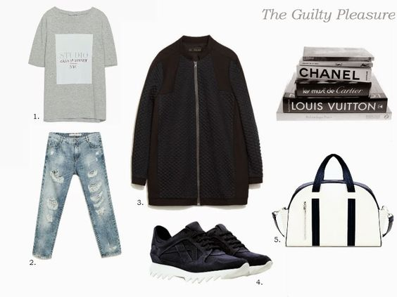 The Guilty Pleasure: SHOPPING :: Sporty-Chic Look