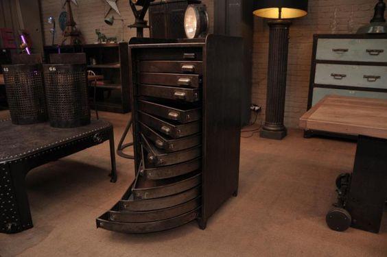 industrial 1950 drawer cabinet | FarFetchers.com