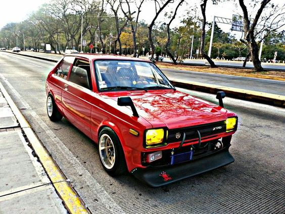Fringe Players 3: 1981 To 1984 KP61 Toyota Starlet