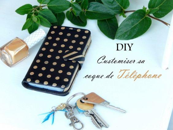Diy customiser une coque de telephone portable mon carnet pinter - Customiser une cagette ...