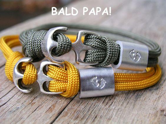 Herrenarmband BALD PAPA von www.Schmuckkistl.de auf DaWanda