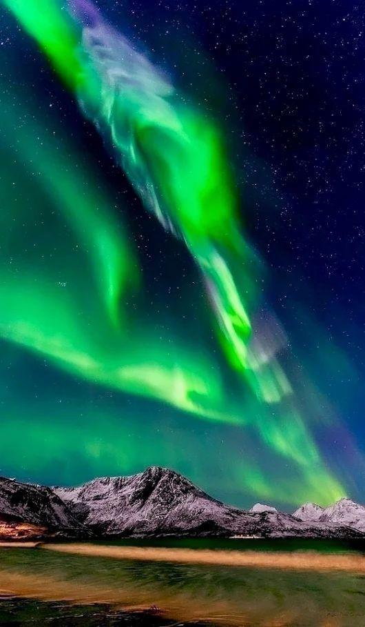 Aurora Borealis Northern Lights Absolutely Amazing Light