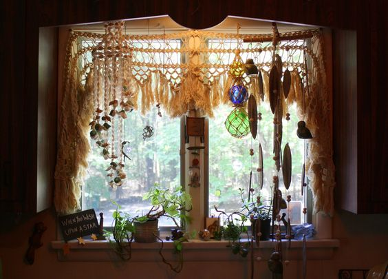 #hippie #bohemian #gypsy #decor #majikhorse #window #kitchen #thrift