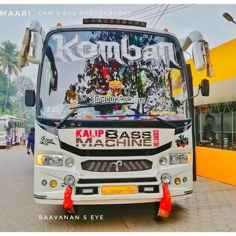 Komban Adholokam In 2020 Bus Captain America Shield Vehicles