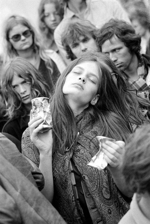 © Herbert Berens - Kralingen Pop Festival, Rotterdam, 1970. S)
