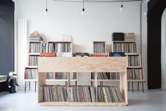 bac vinyls archi atelier premier etage vinyl mania ed banger pinterest vinyles et. Black Bedroom Furniture Sets. Home Design Ideas