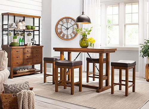 Memories Surrounding Easy Weeknight Dinners With Your Family Or After Work Gatherings With Round Dining Room Round Dining Room Table Counter Height Dining Sets