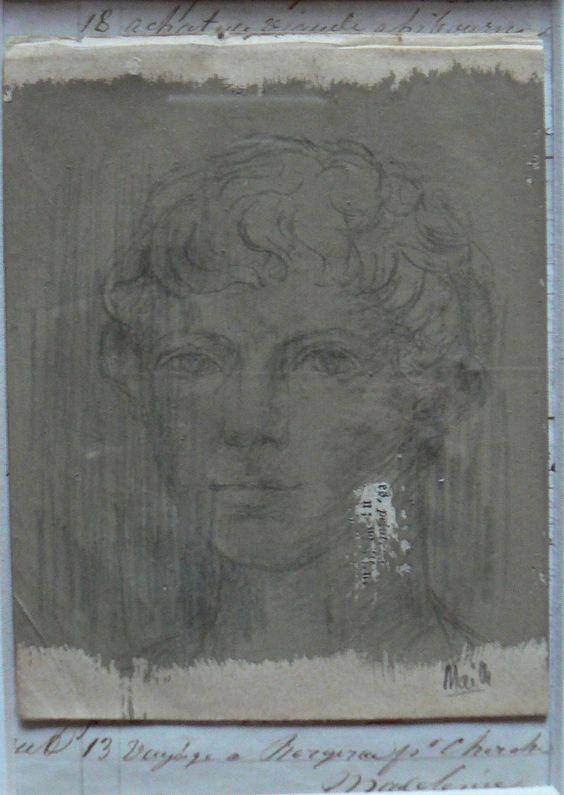 dessin (classique !!!) sur papier gouaché