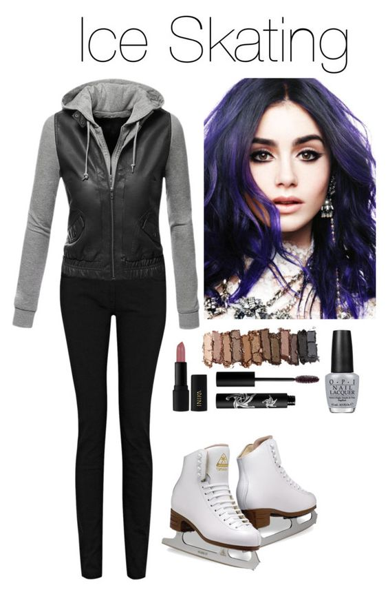 """""""Ice Skating"""" by theofficialqueenofcamelot ❤ liked on Polyvore featuring beauty, Doublju, INIKA, Urban Decay, Rouge Bunny Rouge and OPI"""