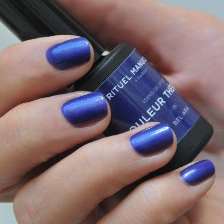 BEL ARA - VERNIS PERMANENT 5ML - https://www.rituel-manucure.com/couleur-therapie-5ml/5560-bel-ara-vernis-permanent-5ml-3663834141652.html Vernis permanent métallisé bleu, nails, manucure et ongles #vernispermanent #vernisbleu #ongles #manucure #nails