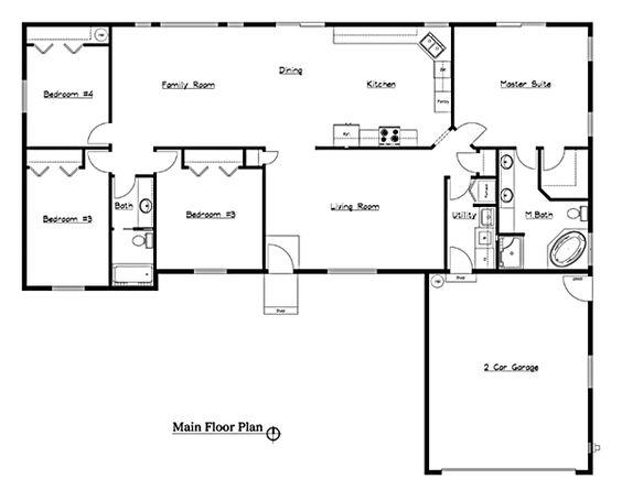 rosa blasi as well small house floor plan likewise 4 bedroom floor