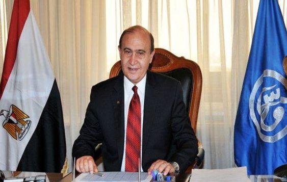 مهاب مميش قناة السويس تستقبل 11 من حجم التجارة العالمية وتطوير الموانئ المصرية يؤهل الدولة لتصبح مركزا لحركة التجارة Board Meeting Suez Meeting