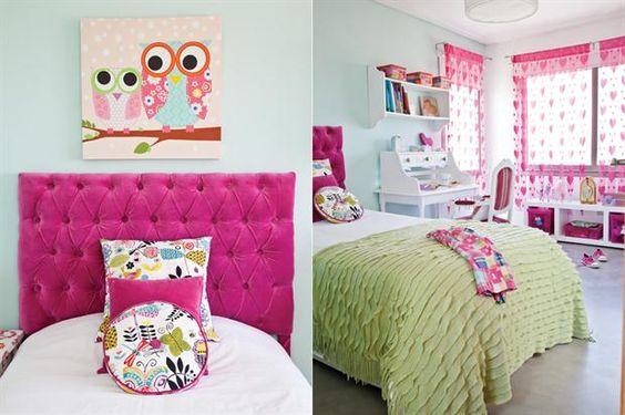 Cuartos para nenas femeninos y frescos for Paginas para disenar habitaciones