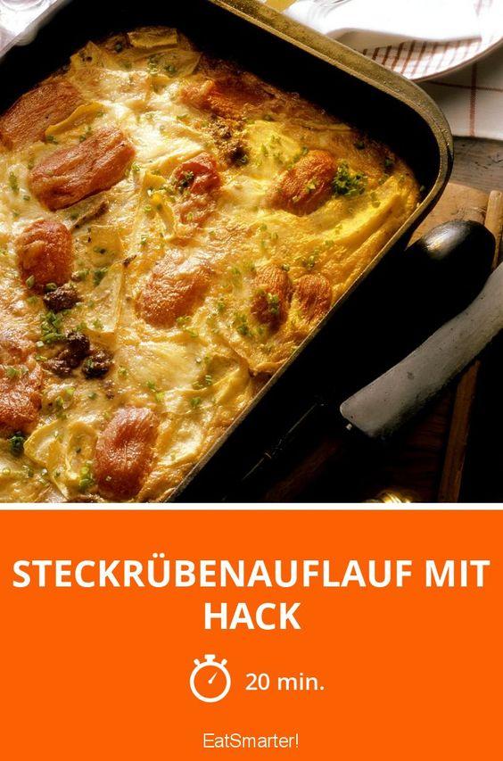 Steckrübenauflauf mit Hack - smarter - Zeit: 20 Min. | eatsmarter.de