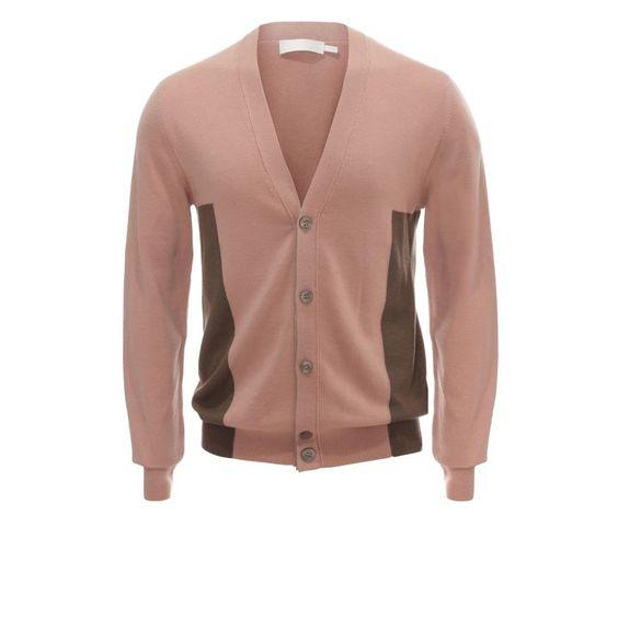 ALEXANDER MCQUEEN Knitwear Colour Block Cardigan