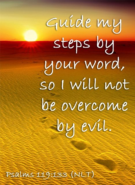 Popular Bible Verses about Steps