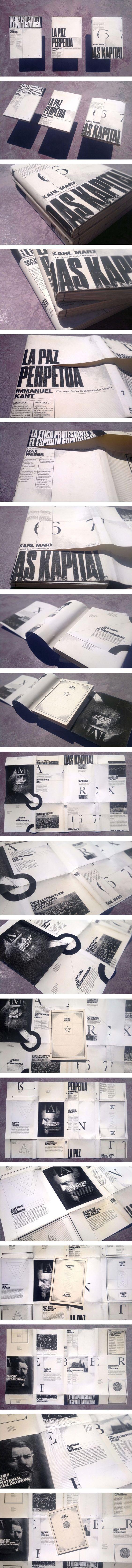 Political essay Book collection - jornal, noticia desaparecimento / texto continuado em um e outro