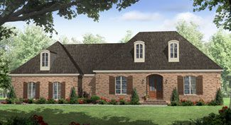 HPG-1600B-1-The Oak Brook is a 2,803 sq. ft./ 3 bedroom/ 2 bath house plan that you can purchase for $690.00 and view online at http://www.houseplangallery.com/index_files/house-plans-prod_detail.php?planid=HPG-1600B-1.