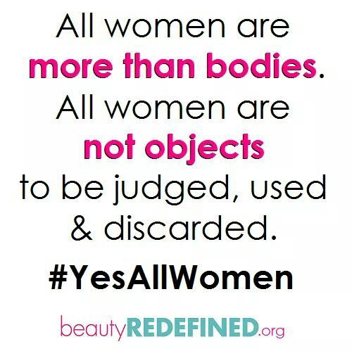 Yes all women