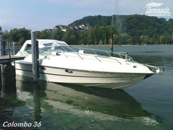 COLOMBO 36 – SPORT & #KABINENBOOT #motorboot #zuverkaufen #luzern #schweiz #vierwaldstättersee  🚤 Mehr als 60 Neu und Gebraucht Motorboote auf Lager