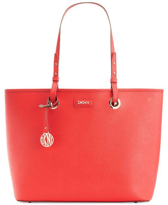 DKNY Bryant Park Saffiano Leather Shopper