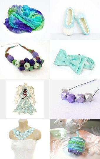 MINT MEDLEY by BelladonnasJoy on Etsy--Pinned with TreasuryPin.com
