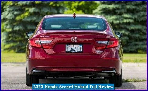 2020 Honda Accord Hybrid Price Review In 2020 Honda Accord Honda Honda S