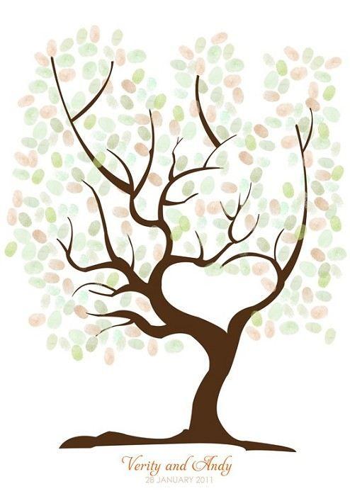 Guest Finger Print Tree
