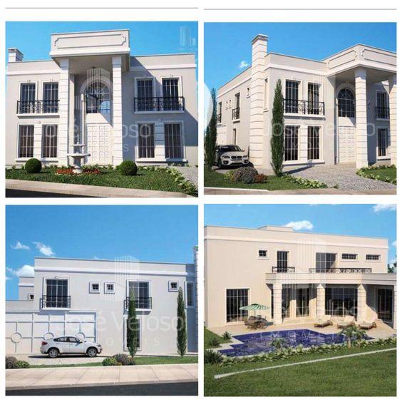 Casa linda de 600m2 em terreno de 1250m2 em condomínio fechado. São 5 suítes! Casa perfeita!