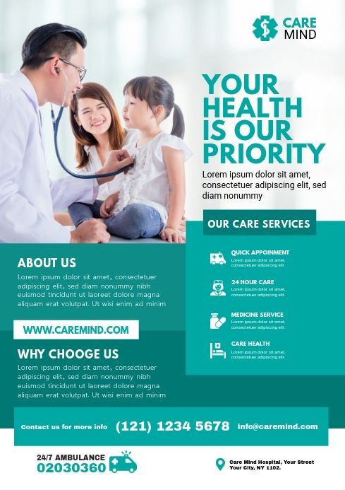 Health care poster ideas