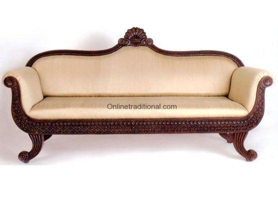 Teak Wood Sofa Sets Traditional, Traditional Teak Wood Sofa Set Designs Pictures