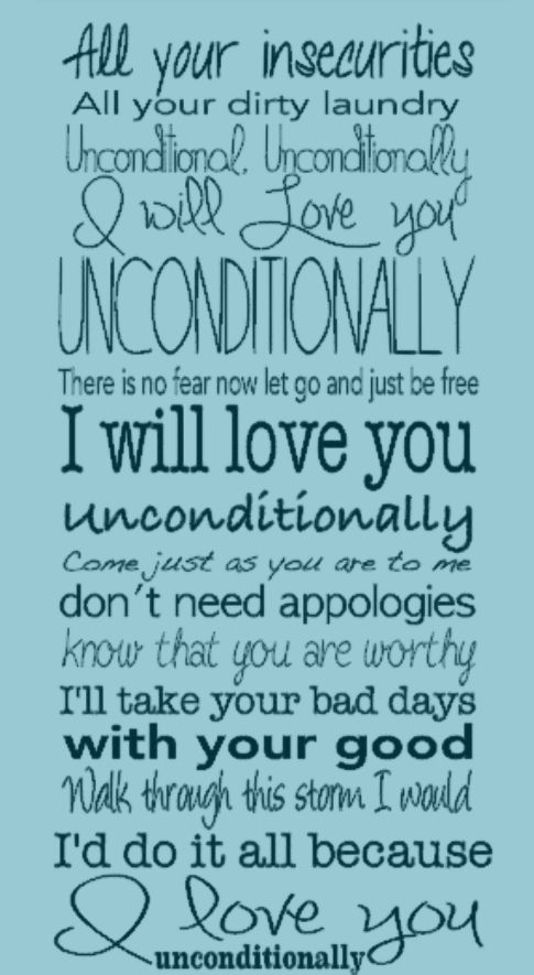 My first ever full Song Lyrics Subway Art from scratch - Katy Perry's Unconditionally song makes me cry and thought this would be pretty to share!!! #enjoythemoments http://www.AboveRubiesStudio.com