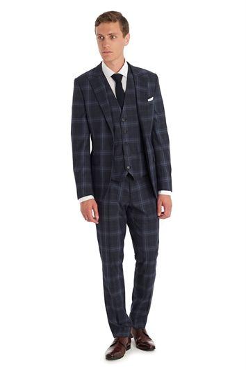blue tartan suit mens - Google Search | Things to Wear | Pinterest