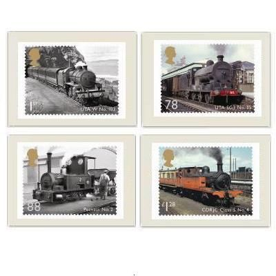 Classic Locomotives of Northern Ireland Stamp Cards at Royal Mail Shop