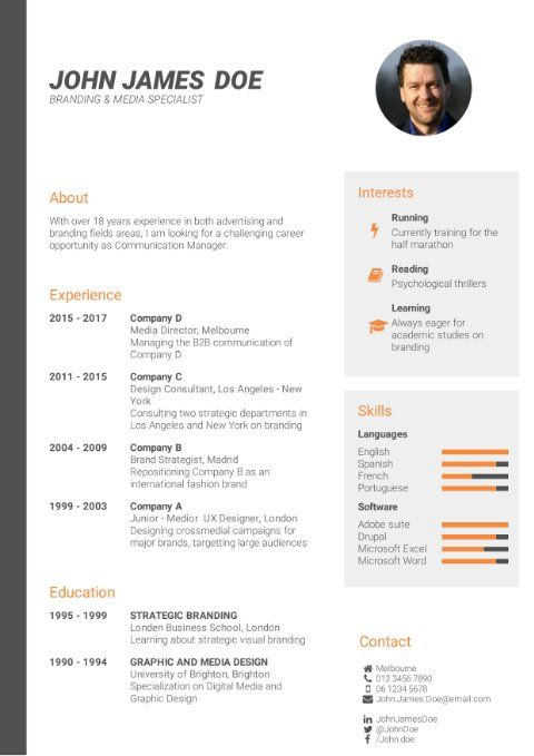 Cv Template Template Builder In 2021 Best Cv Template Cv Template Good Resume Examples