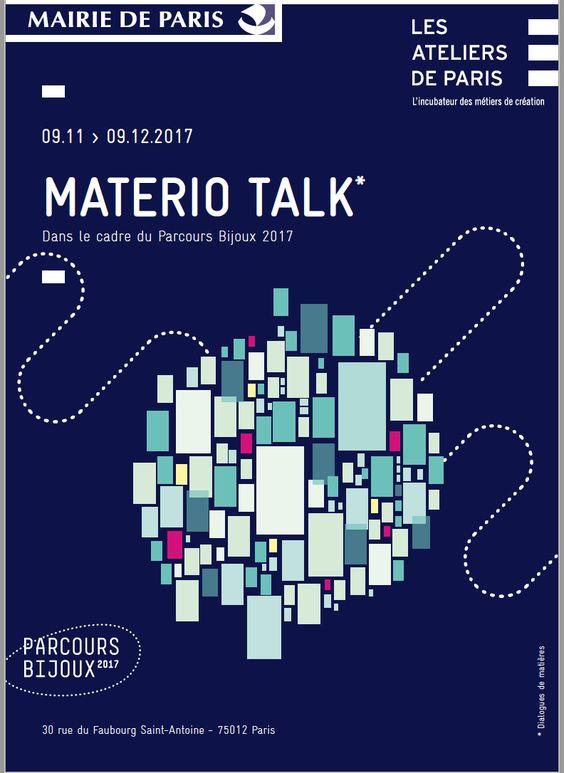 Materio-Talk - Aux Ateliers de Paris - inauguration 9 novembre 2017 soir