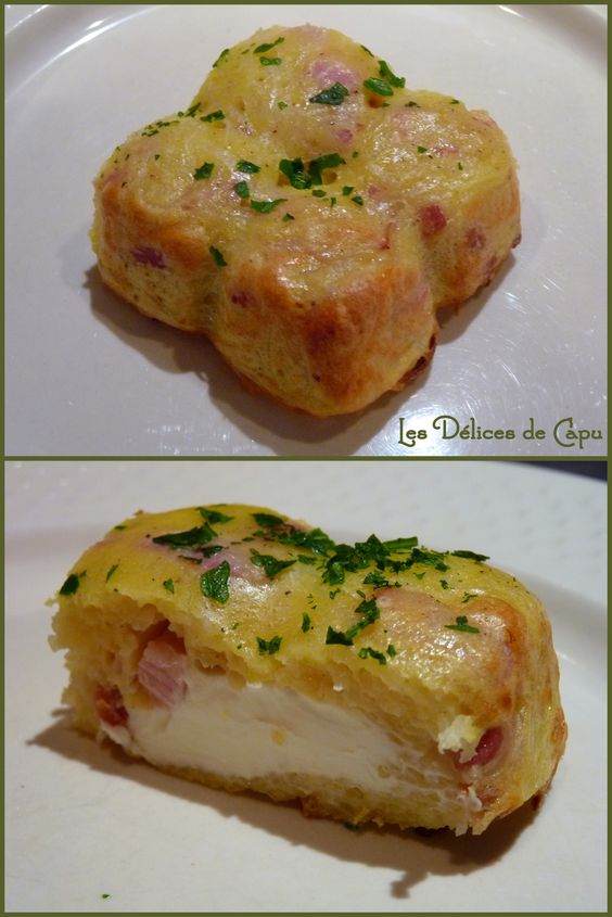 Petit gateau de pomme de terre lardons et kiri un plat for Plat facile et convivial