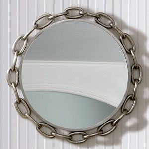 Grand Links Mirror from Modern Chic Home, wall decor, mirror, interiors