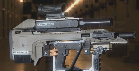 El rifle inteligente del ejército canadiense parece de ciencia-ficción